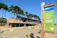 The Lookout at Lepe Country Park