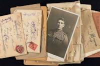 WW1 letters and photograph