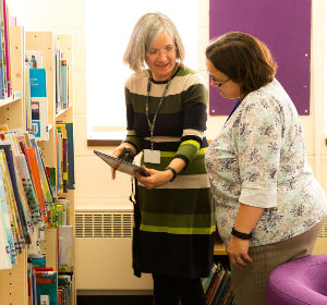 Advice and support from the School Library Service