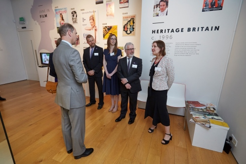 HRH The Earl of Wessex opening the Jane Austen 200 Exhibition, Winchester