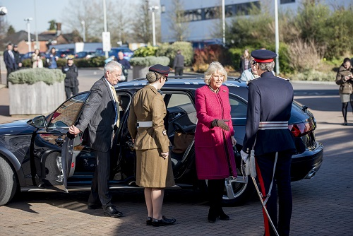 Visit by HRH The Duchess of Cornwall to Southampton University to receive an Honorary Doctorate