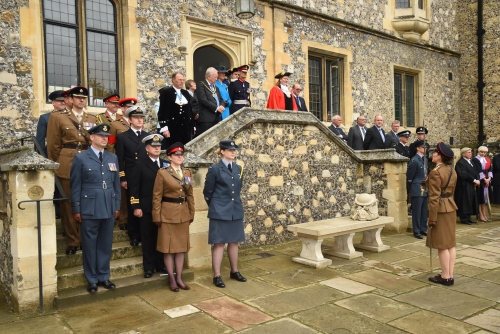 Armed Forces Day Flag Raising Ceremony, Winchester
