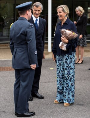 HRH The Countess of Wessex visiting Treloars