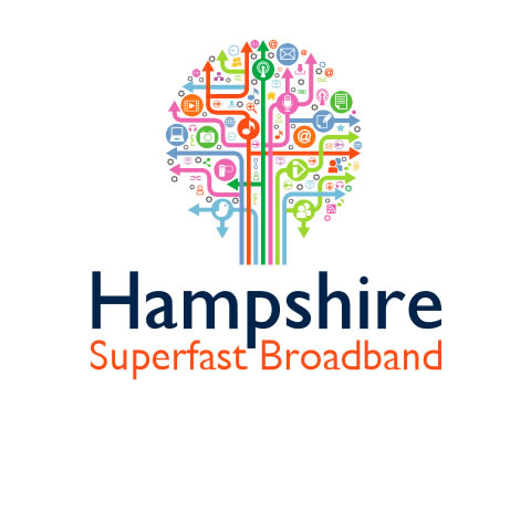 Logo for Hampshire Superfast Broadband project