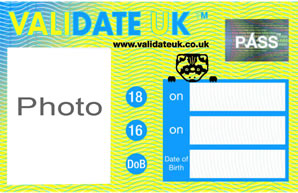 Validate UK card