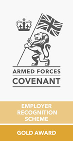 Armed Forces Covenant Gold Award