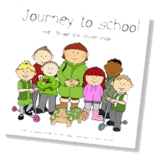 Journey to School book cover