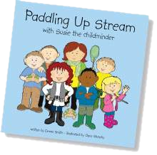 Paddling Up Stream book cover