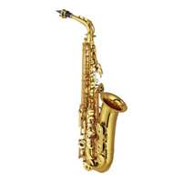 Alto sax white background