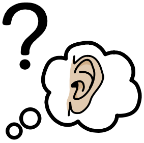 What is hearing impairment icon