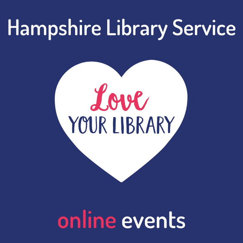 love your libraries heart logo for online events