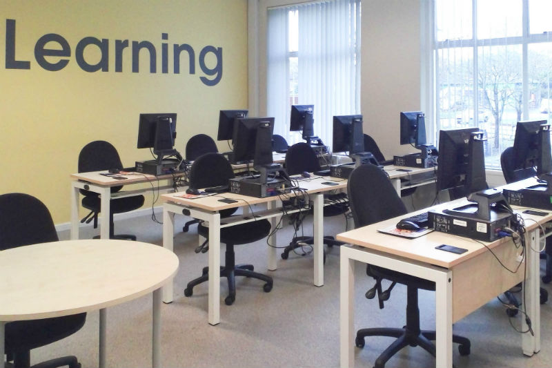 Aldershot Library IT Suite