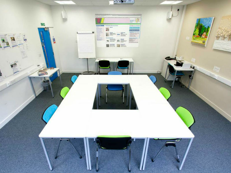 Basingstoke Library Business Room