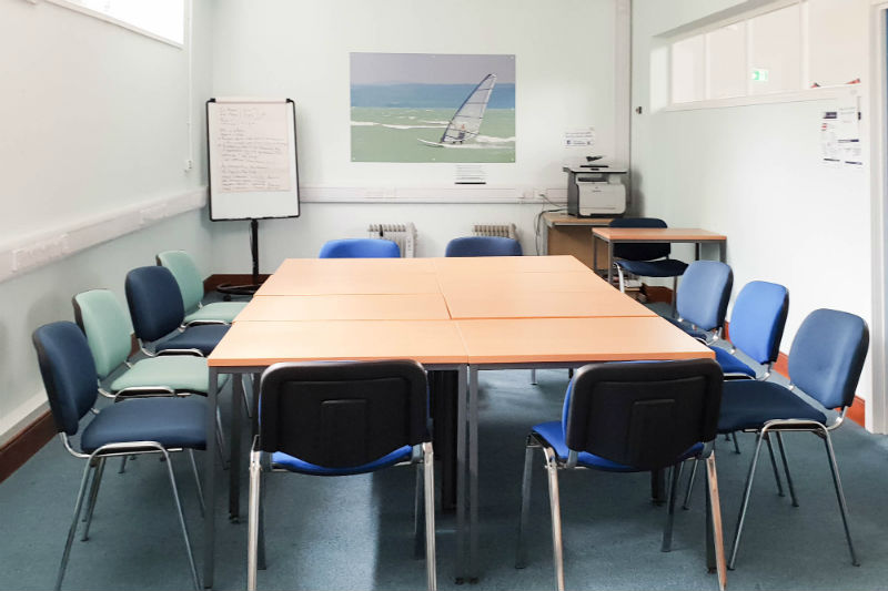 Hayling Island Library Room