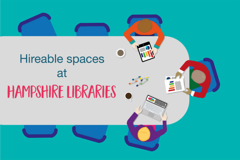 library rooms space hiring