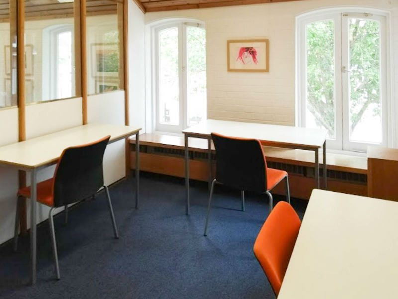 Petersfield Library Hanger Room