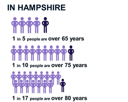 Hampshire age structure