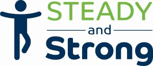 Steady and strong logo