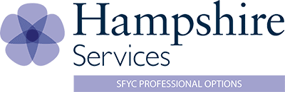Hampshire Services - SfYC Professional Options logo