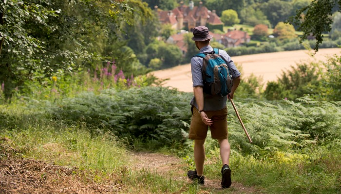 Walking routes in the Hampshire Countryside