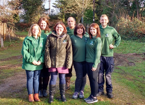The team at Lepe