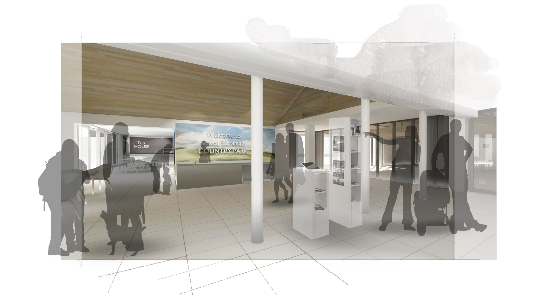 Design for Queen Elizabeth Country Park's new visitor centre