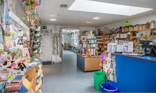 Inside the Titchfield Haven shop