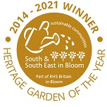 Heritage Garden of the Year 2014-17 Gold Winner - South and South East in Bloom (Part of RHS Britain in Bloom)