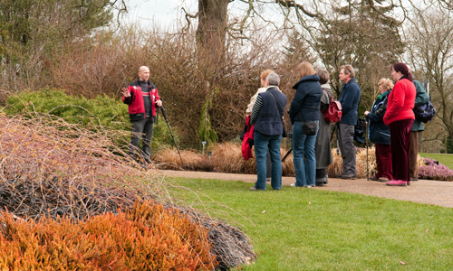 Guided tours at Sir Harold Hillier Gardens