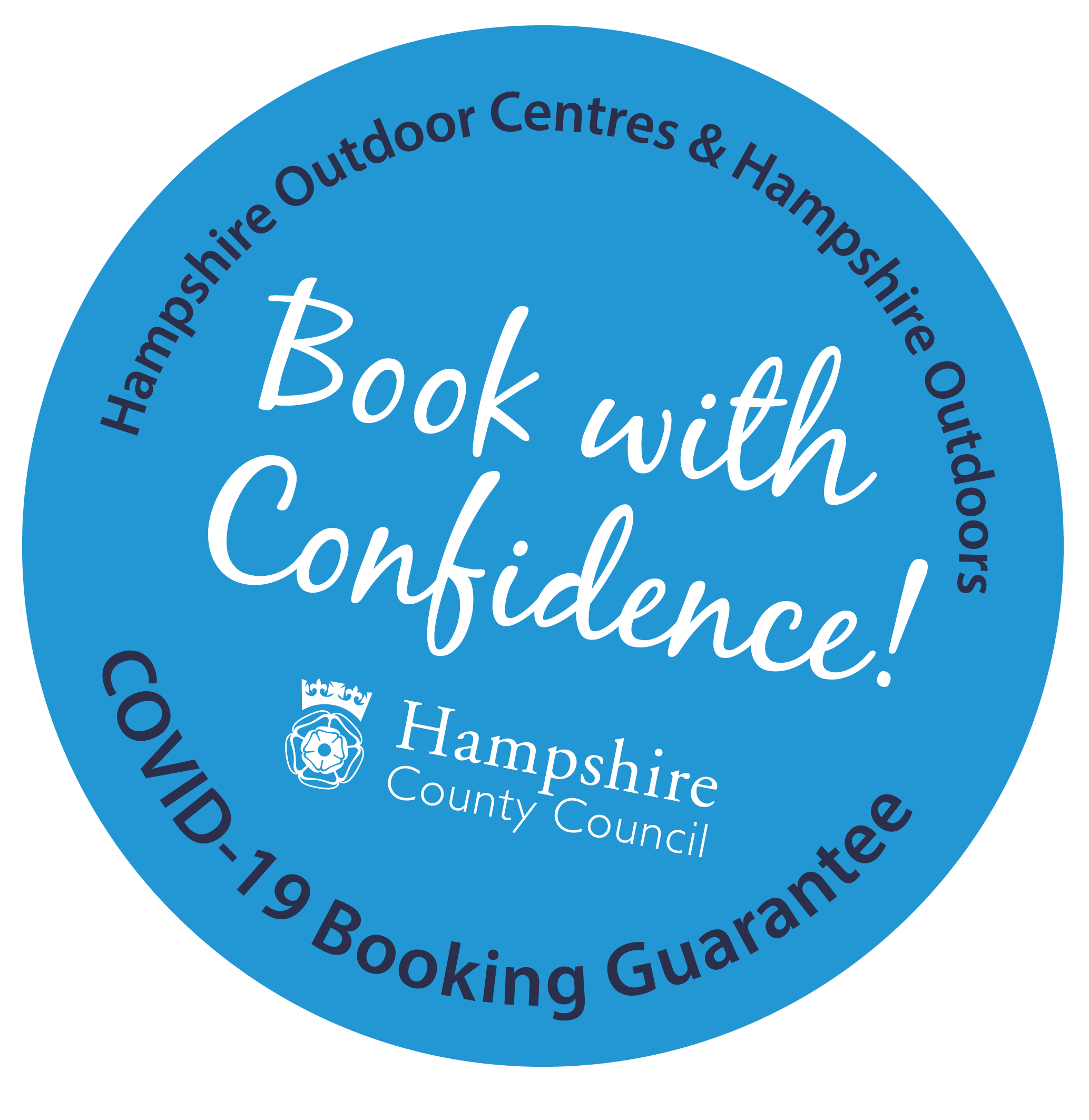 Book With Confidence! Hampshire County Council COVID-19 booking guarantee
