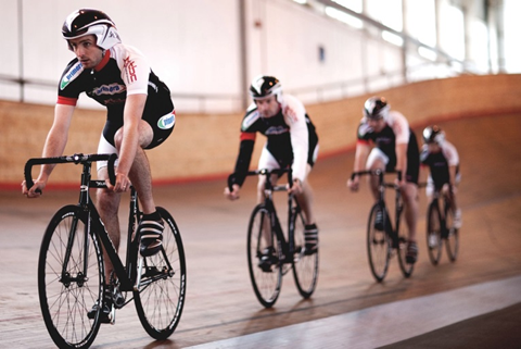Track cycling at Calshot