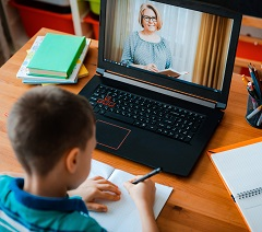 A helping hand for parents and carers with children remote learning