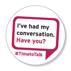 Small actions can make a big difference on Time to Talk Day