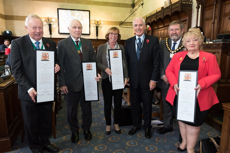 Honorary Aldermen