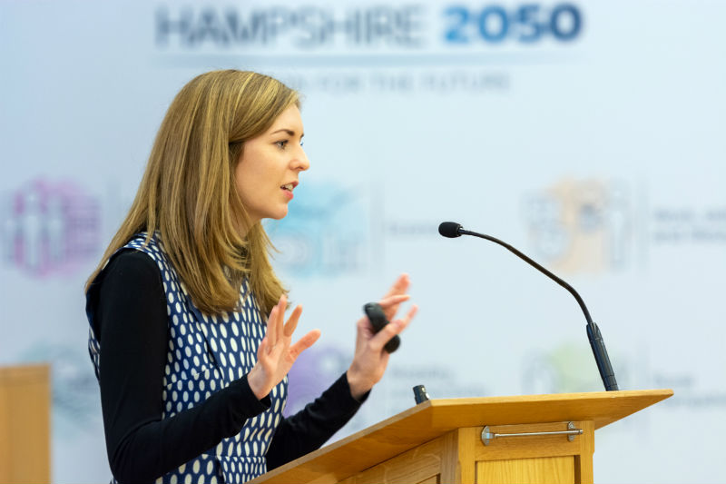 Hampshire 2050 vision for the future - theme three - Work skill and lifestyle conference photo