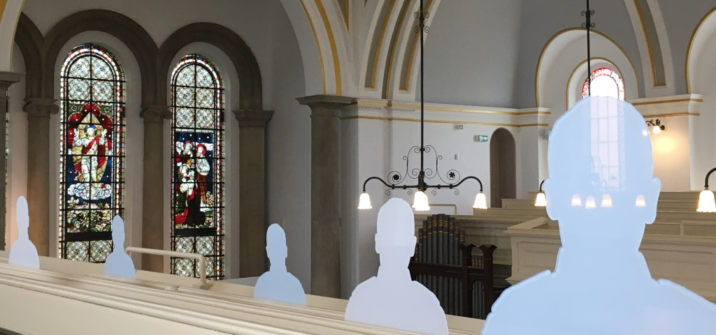 Royal Victoria Country Park chapel, Tommy Silhouettes