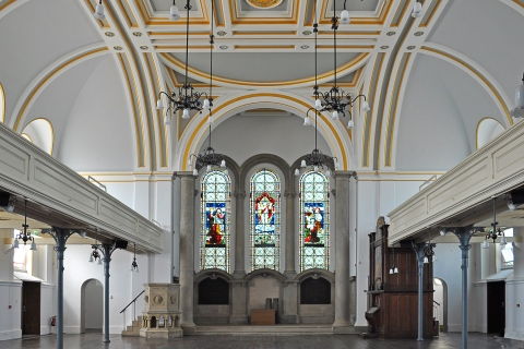 Royal Victoria Country Park, chapel interior