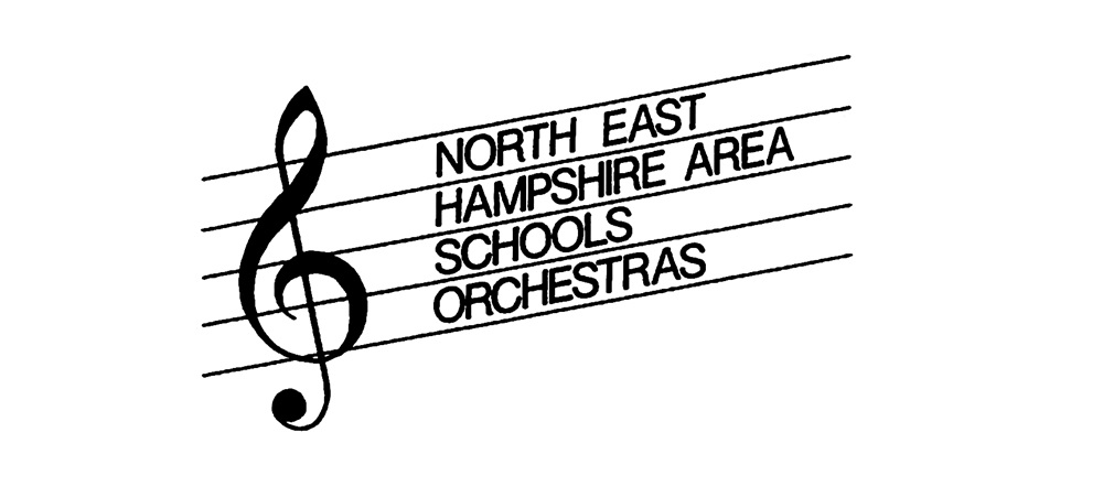 North East Hampshire Area Schools Orchestras logo