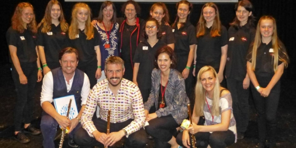 Success for Hampshire Flute Choir