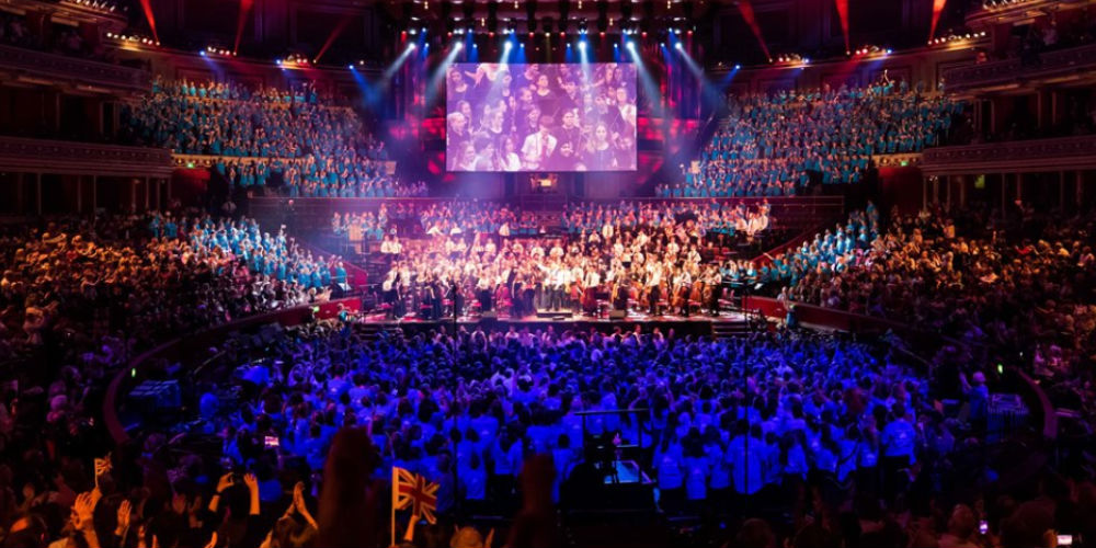 Hampshire takes over The Royal Albert Hall on St George's Day
