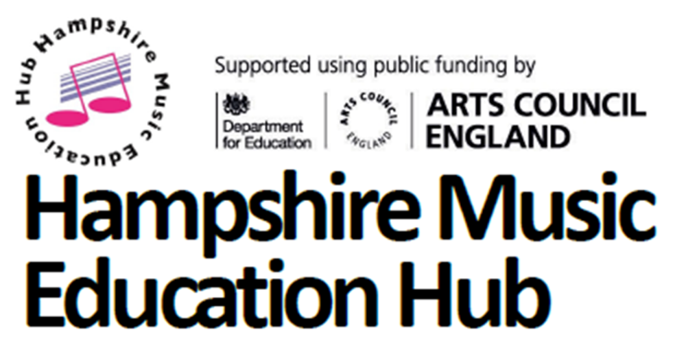 Logos Hampshire Music Education Hub newsletter