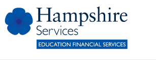 Hampshire services, education financial services logo