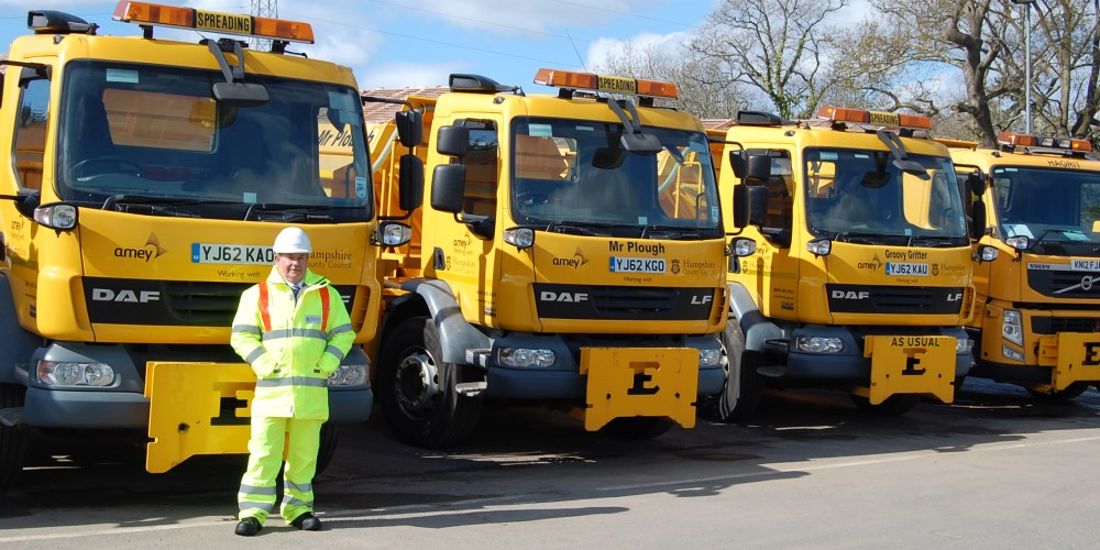 Gritter cold snap