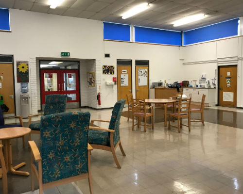Andover Day Centre main hall