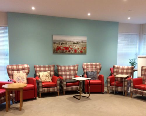 Chesil Lodge common area