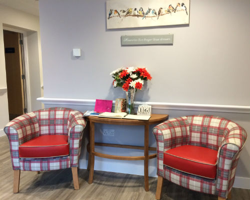 Chesil Lodge foyer