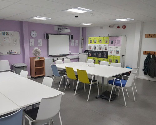 Fareham Community Link training room