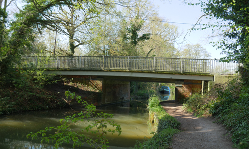 Coxheath Bridge and Footbridge