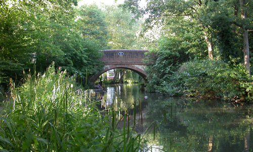 Guildford Road Canal Bridge (Kings Head Bridge)