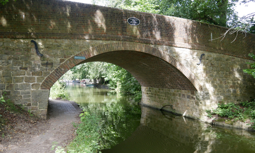 Mytchett Lake Canal Bridge